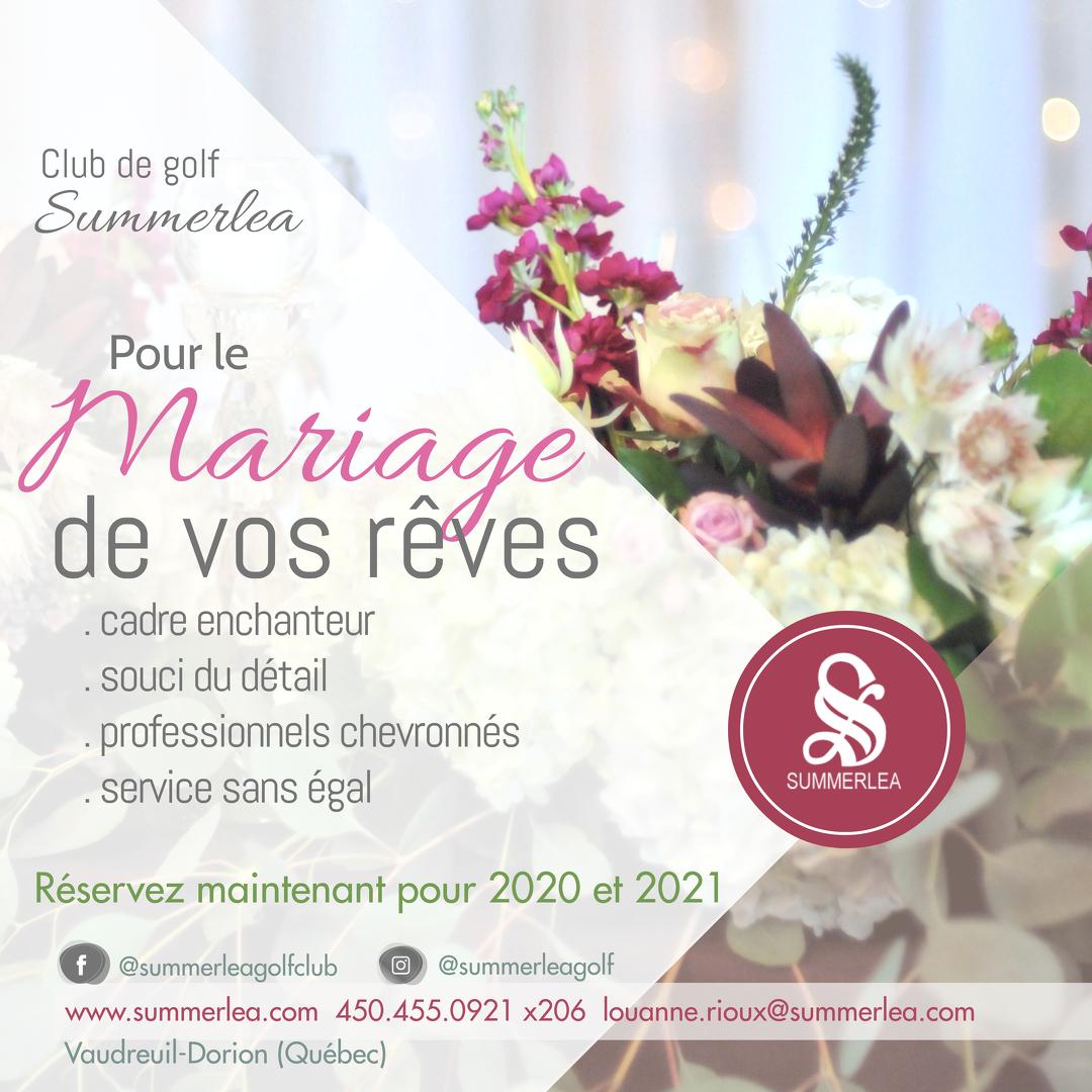 Summerlea - pour le mariage de vos rêves