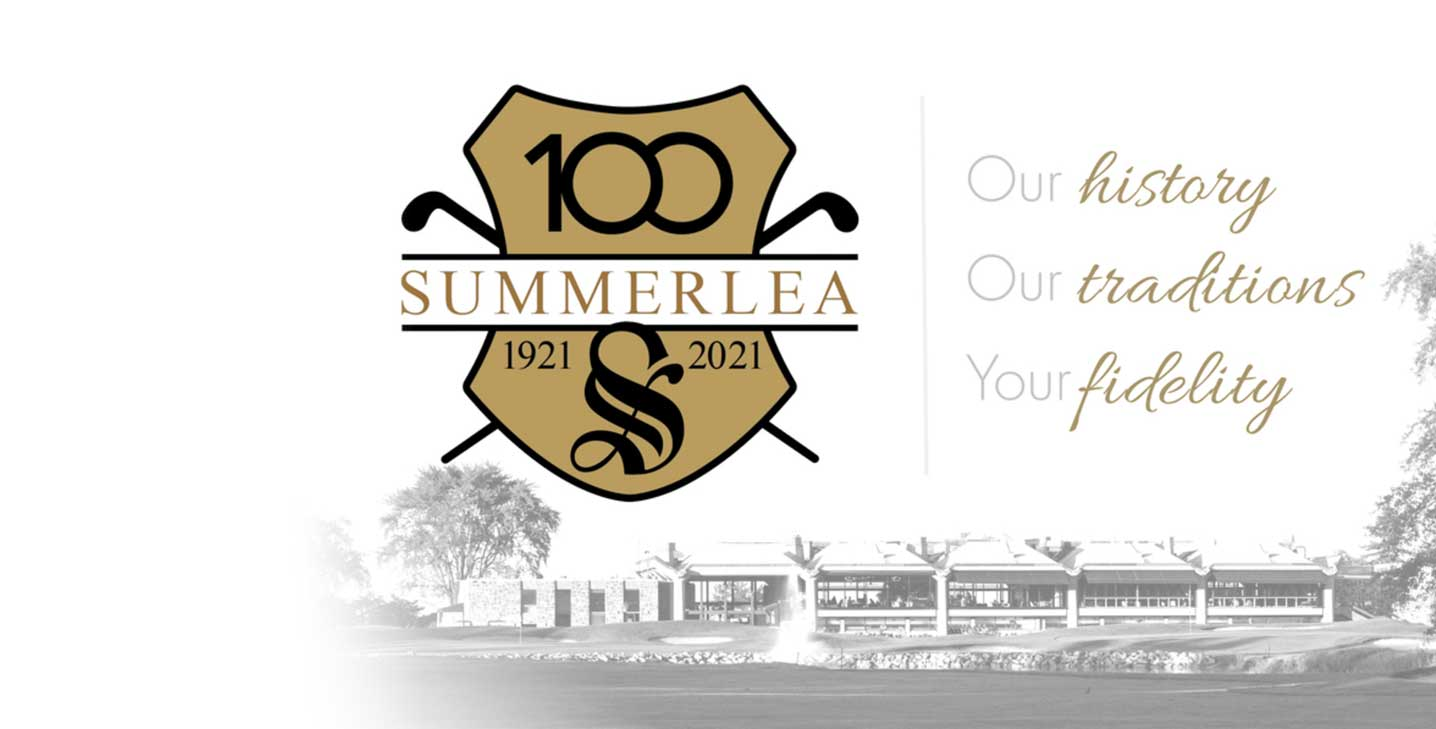 Summerlea Golf & Country Club celebrates 100 years!